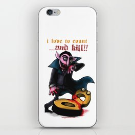 Down For The Count iPhone Skin