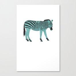 Zebrastyle Canvas Print
