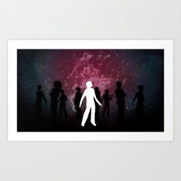 Stardust Galaxies Art Print