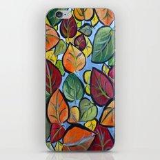 Autumn painting iPhone & iPod Skin