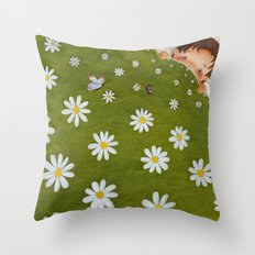 Welcome back spring! Throw Pillow