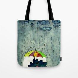 Oh! Raining Night Tote Bag