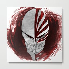 Bleach - Hollow Metal Print