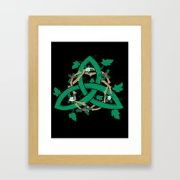 The Holly And The Ivy Framed Art Print