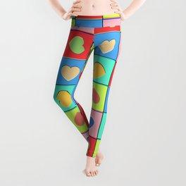 Heart Shaker Pattern Leggings