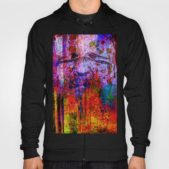 portrait abstrait Hoody