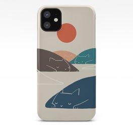Cat Landscape 1 iPhone Case
