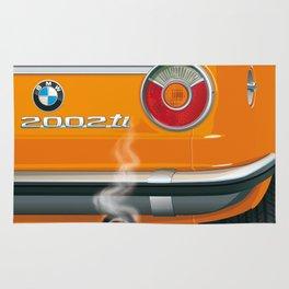 BMW 2002 ti Alpine from 1968 Rug