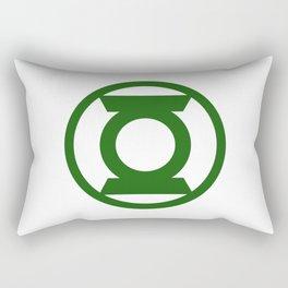 Green Space Cops Logo Rectangular Pillow