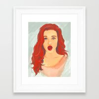 lydia martin Framed Art Prints featuring Holland Roden (Lydia Martin) by maichan