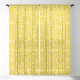 Summer sun 01 Sheer Curtain