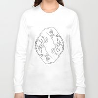 elephants Long Sleeve T-shirts featuring Elephants by Gonacas