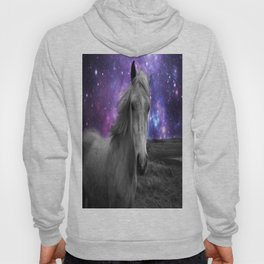 Horse Rides & Galaxy skies muted Hoody