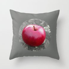 red apple VI Throw Pillow