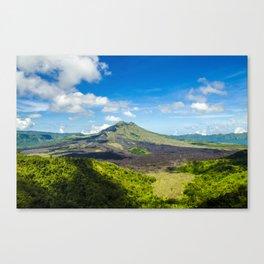 Mount Batur Canvas Print