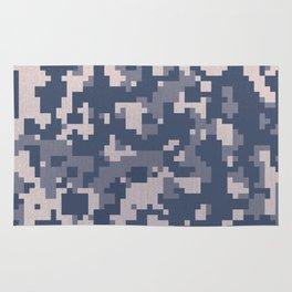 Winter Pixelated Camoflage Rug