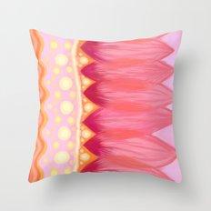 Lotus Petals Throw Pillow