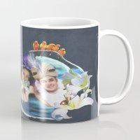aladdin Mugs featuring Aladdin & Jasmine by FarbCafé