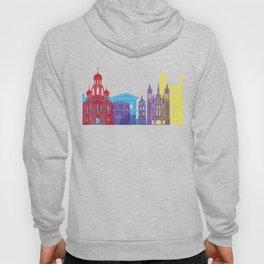 Vilnius skyline pop Hoody