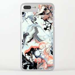 Abstract 9 Clear iPhone Case