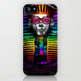 The King of Colors iPhone Case