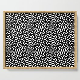 optical pattern 30 Serving Tray