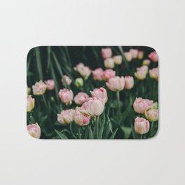 Blush Tulips By The Dozen Bath Mat