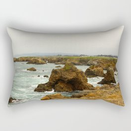 Rocky coastline Rectangular Pillow