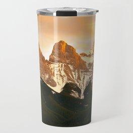 Three Sisters - Golden Peaks Travel Mug