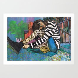 Downtown Harlem (Who Knows) Art Print