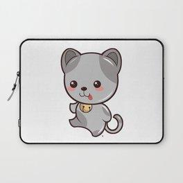 Happy Kitten Kawaii Laptop Sleeve