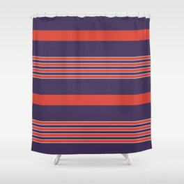 Small Alison Clothes Shower Curtain