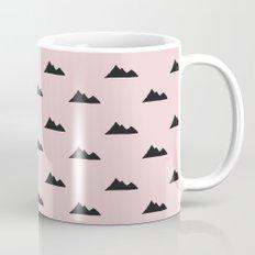 Mountain pattern Mug