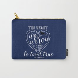 The heart is an arrow - Six of Crows Carry-All Pouch