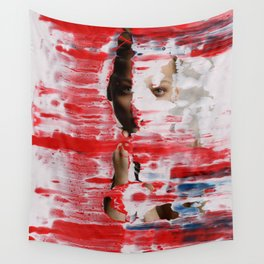 Red 001 Wall Tapestry