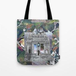 Cosmic Temple Tote Bag