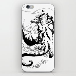 A Dragon from your Subconscious Mind #12 iPhone Skin