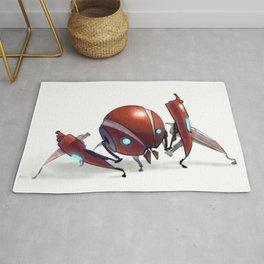 Red Bot Rug