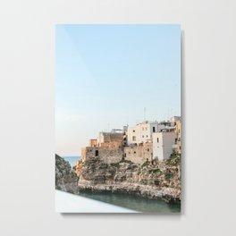 Polignano a Mare, Bari in Puglia Italy Metal Print