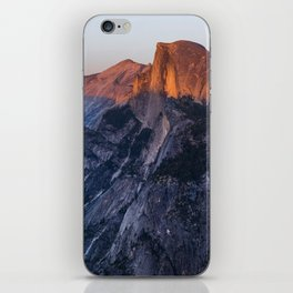 Sunkissed Half Dome at Sunset iPhone Skin