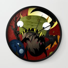 Who Cracked That Egg? Wall Clock