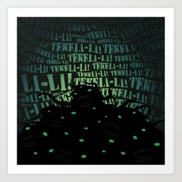 Lovecraft Shoggoth Art Print