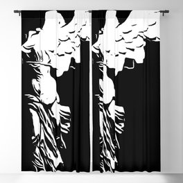 Falling Angel Blackout Curtain