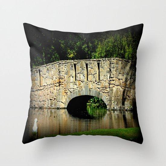 Tranquil Throw Pillow