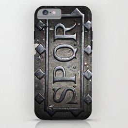 SPQR Rome, Italy iPhone Case