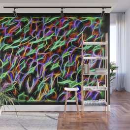 The Electromagetic Signature Of An Eon Forest Wall Mural