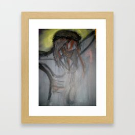 Christ on the Cross Framed Art Print