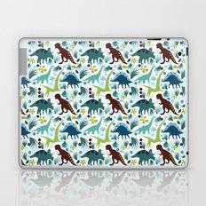 Dinosaur Days (Smaller Print) Laptop & iPad Skin