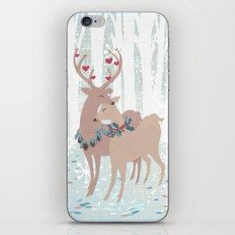 deer love iPhone Skin