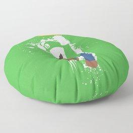 Luigi Paint Floor Pillow